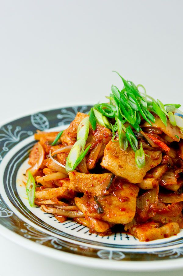Recipe: Buta Kimchi (Pork and Kimchi Stir Fry)