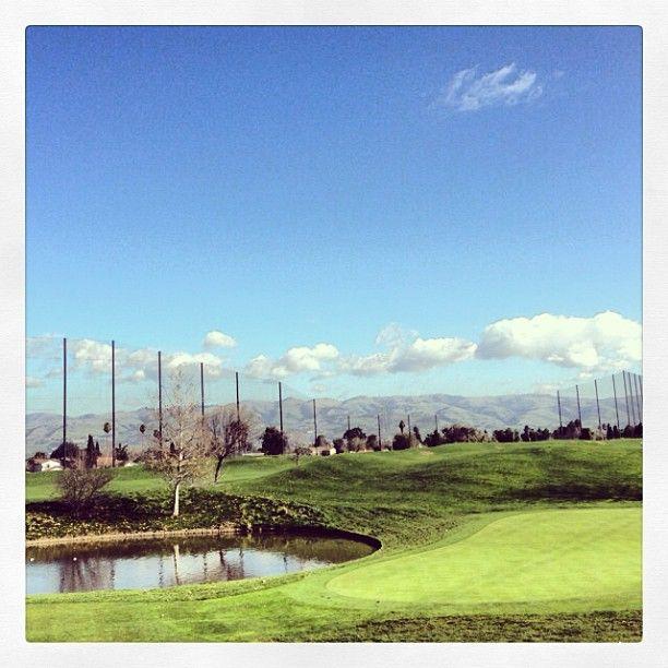 Los Lagos Golf Course [ ArtOfGolf.com ] #course #art #golf
