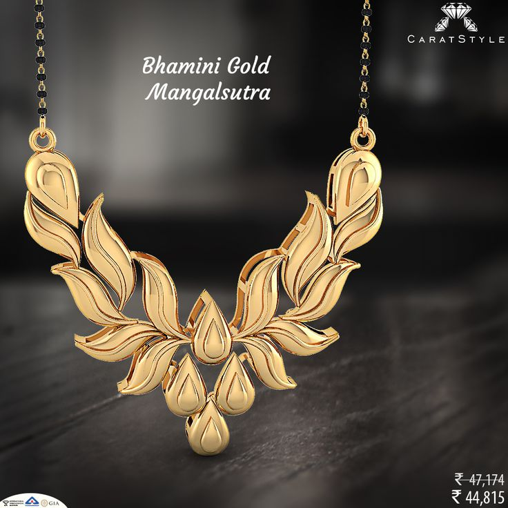 Gold #Mangalsutra is classic and timeless and can complement any #woman   #goldmangalsutra #statementjewellery #goldjewelry #shopping #jewelryaddict #jewellerystylist #modernmagalsutra #tanmaniyamangalsutra #longmangalsutra #mangalsutradesigns #weddinmangalsutra #mangalsutrapendant #fancygoldmangalsutra #perfect #embrace #embracelove   #interiordesign