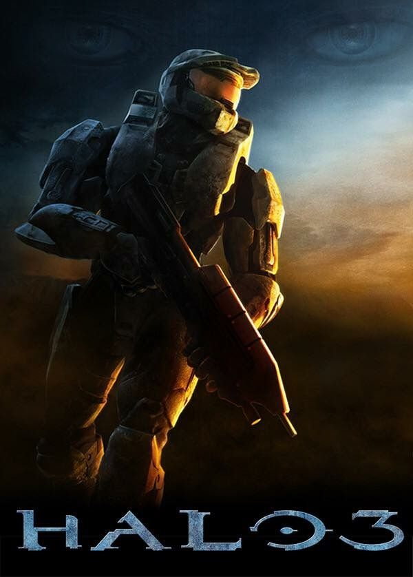The best poster for the best game in the Halo series: Halo 3 | Halo