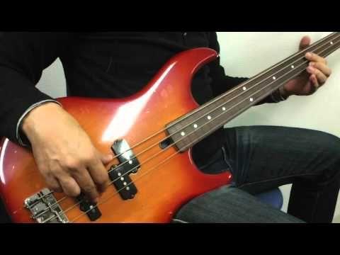 Old Yamaha Bass Guitar / Yamaha RBS50 Fretless Bass Guitar