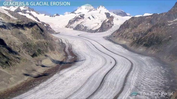 Glacial Erosion: Definition, Processes & Features - Video ...