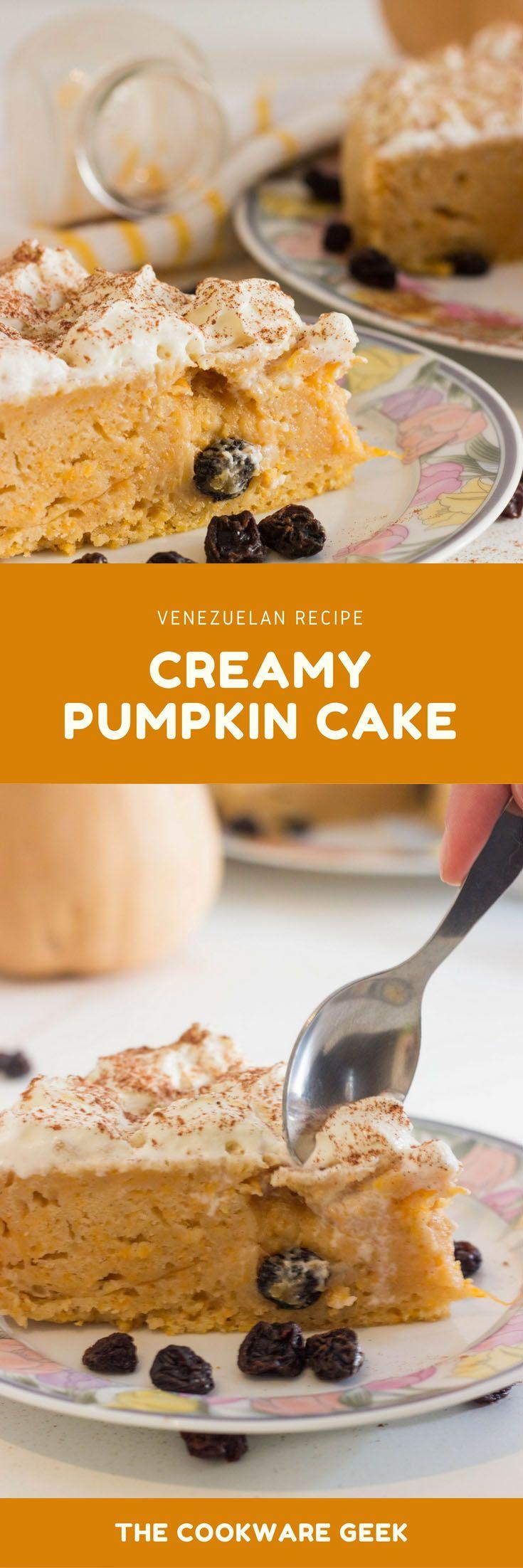 Creamy Pumpkin Cake (Venezuelan recipe) - The Cookware Geek | The Cookware Geek