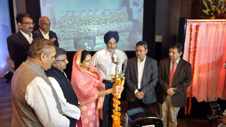 It was great to be a part of the inauguration of state of the art @stpiindia Incubation centre at Mohali with Information Technology Minister of India Sh.Ravi Shankar Prasad ji. The incubation centre, setup at Rs.60-crores is spread over 1.40 lakh square feet area. #DigitalPunjab #harsimratkaurbadal #akalidal