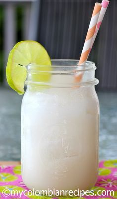 Coco Loco (Colombian Coconut Cocktail)