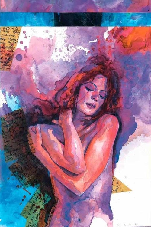 Jessica Jones, formerly Jewel (cover to Alias #25)