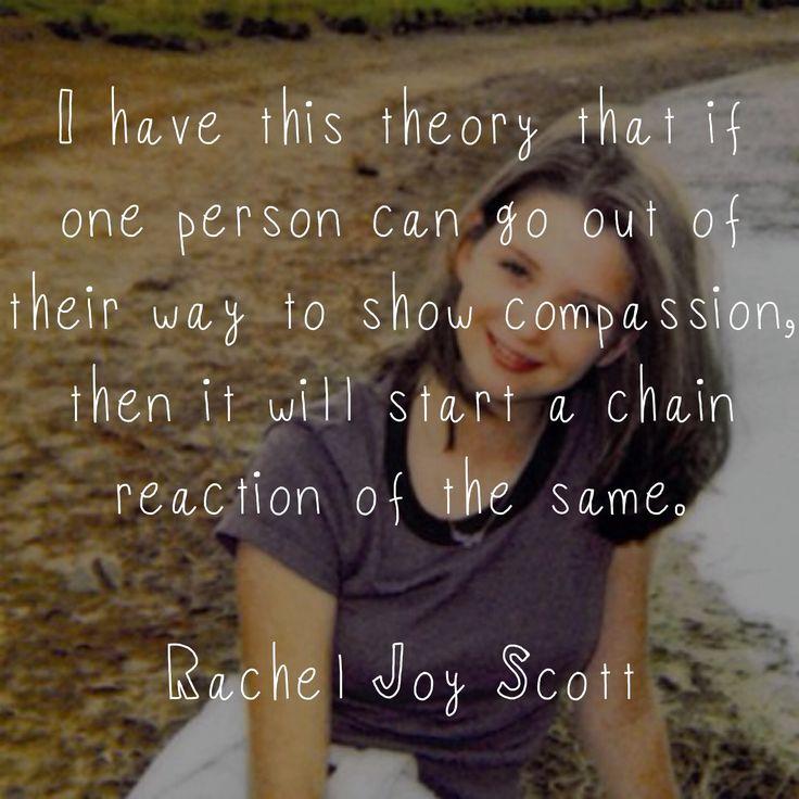 Rachel's Challenge | Quotes | Pinterest | Challenges ...
