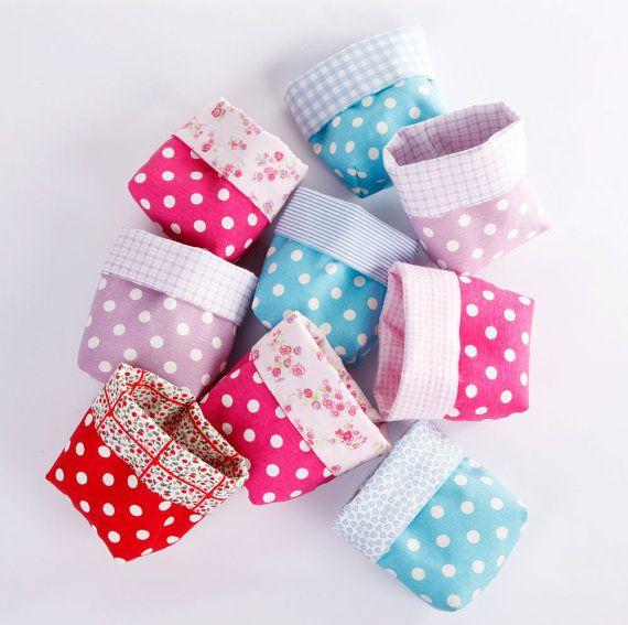 Mini Fabric Basket by LoveJoyCreate
