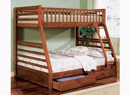 Gavin Twin-Over-Full Bunk Bed | My Raymour & Flanigan Dream Room | Pi ...
