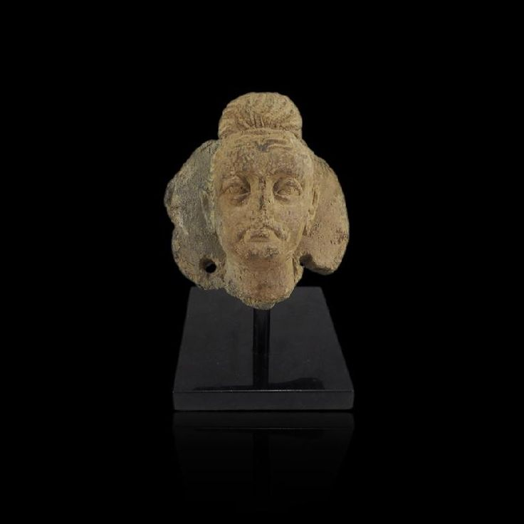 Minerva Gallery - Large Gandharan Frieze Buddha Head