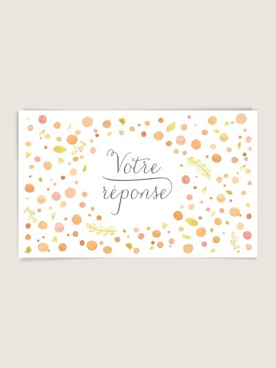 RSVP mariage : Nectar