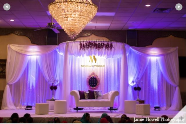 Nigerian Wedding Stage Decor Ideas - Nigerian Wedding