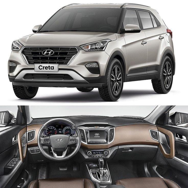 Hyundai Creta 2017: SUV tem preços revelados Marca coreana anunciou os preços do novo SUV compacto Creta. As vendas começam na próxima semana com preço inicial de R$ 72.990. O carro é produzido na planta de Piracicaba (SP) e compartilha a mesma linha de montagem do HB20. No entanto o Creta é baseado na plataforma do sedã Elantra e não do compacto.  O Creta será vendido nas versões Atitute 1.6 Pulse 1.6 Pulse 2.0 e Prestige 2.0. O bloco 1.6 é o Gamma 16V DOHC D-CVVT com 130 (E)/123 (G) a…