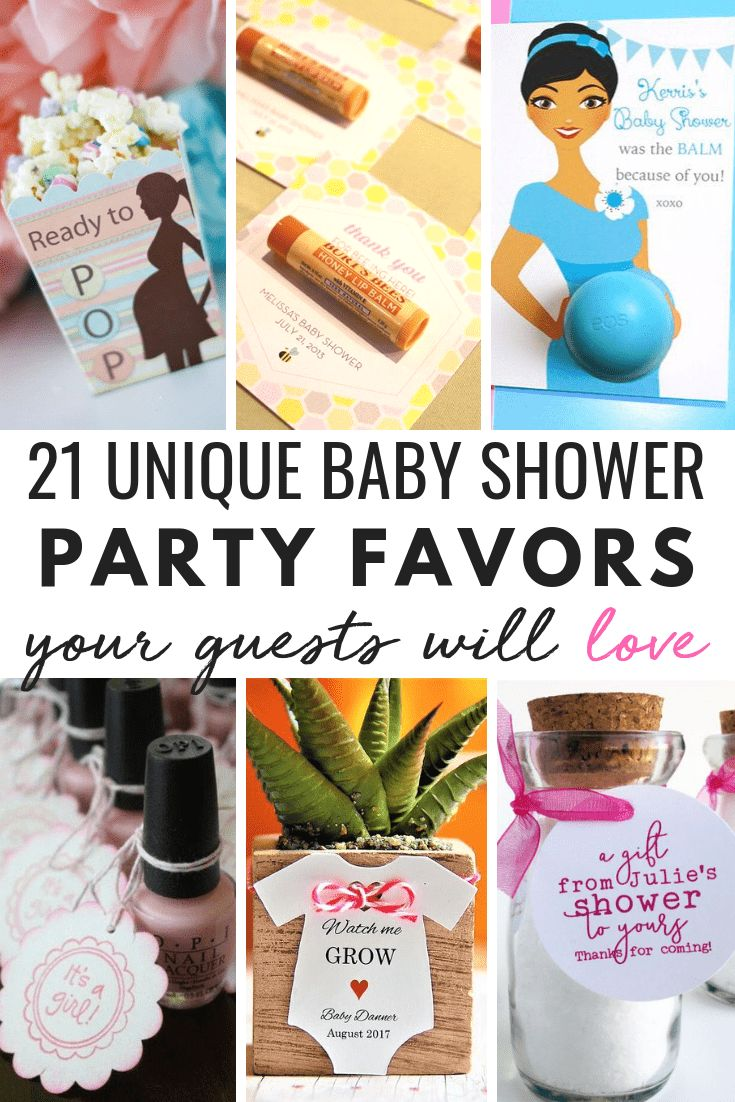 Baby shower favor ideas baby shower gifts for guests