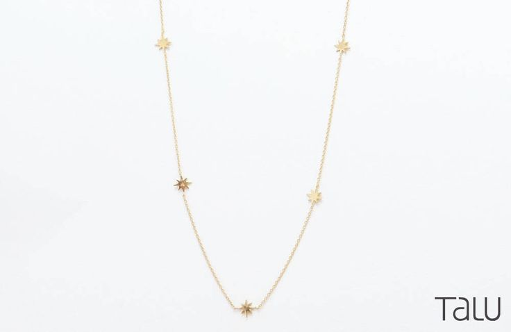 A personal favourite from my Etsy shop https://www.etsy.com/listing/519415543/gold-star-necklace-tiny-stars-necklace