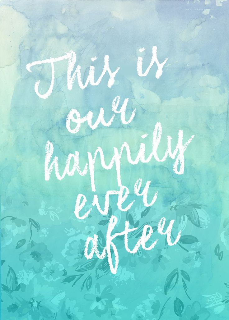Love Quotes: This Is Our Happily Ever After: Wall Art from Artifax