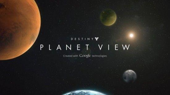 ONE: Explora los planetas del nuevo juego Destiny al estilo Google Street View