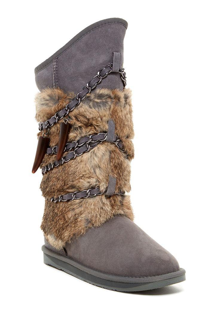 Nice winter boot #gray