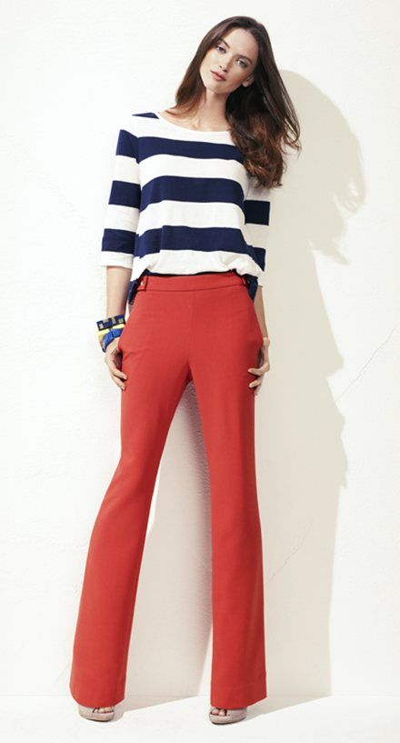 The color of these pants are so Vibrant in person! Awesome & Affordable. Designer look for less :)