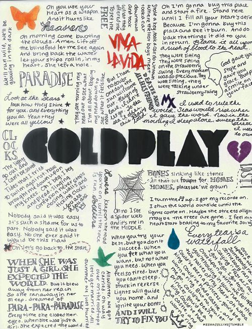 "Did you know: Coldplay's first song was called ""Ode to Deodorant"".  You can check it out on YouTube!"