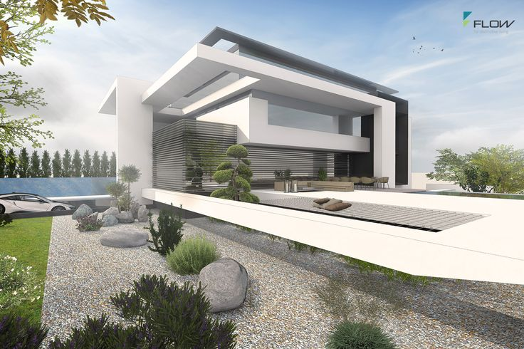 Moderne architektenvilla in m nchen by for Moderne architektur villa