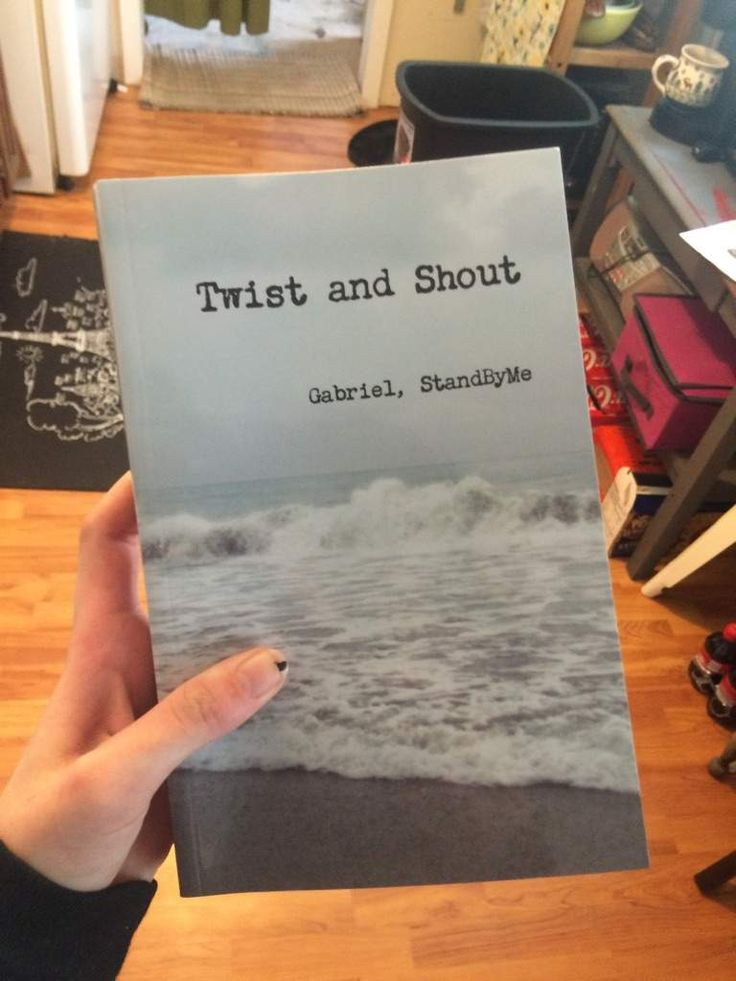 TWIST AND SHOUT BOOK | Supernatural Amino. Holy crap! An actual physical copy!