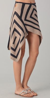Crazy Cool Crochet Skirt ~ Inspiration!