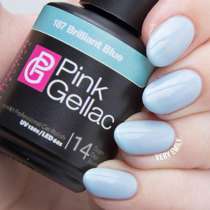 Pink Gellac Brilliant Blue