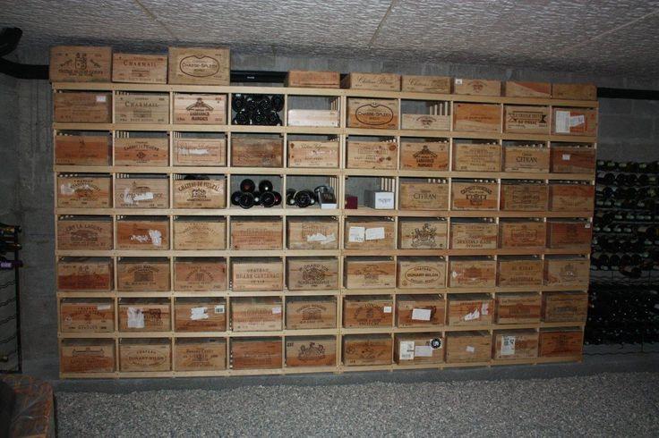 meer dan 1000 idee n over casier vin op pinterest amenagement cave am nagement cave vin en. Black Bedroom Furniture Sets. Home Design Ideas