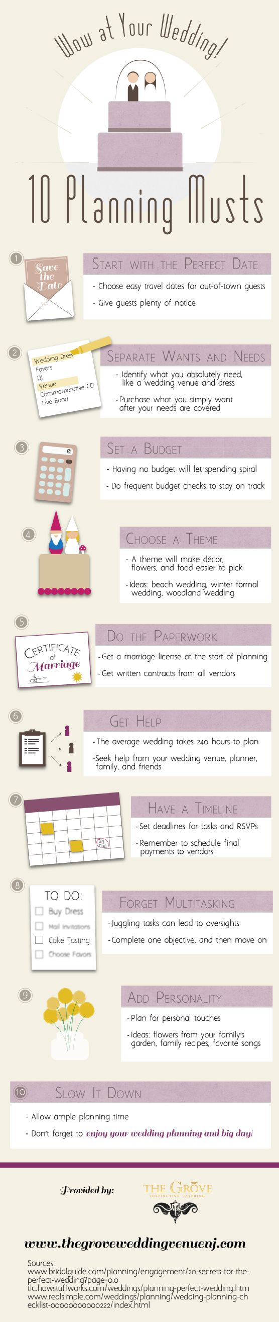 Wow at Your Wedding: 10 Planning Musts