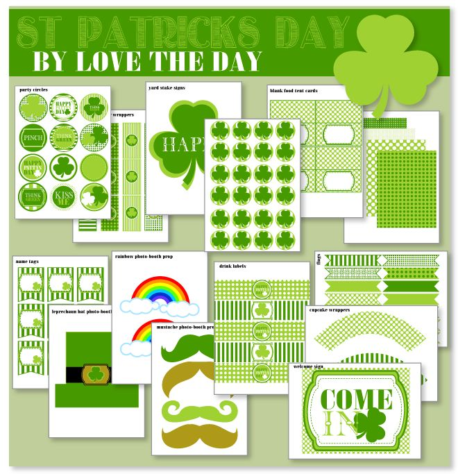 FREE St. Patrick's Day PartyStpatricksdayfreedownload Png, Marching St Patricks, St Patricks Day