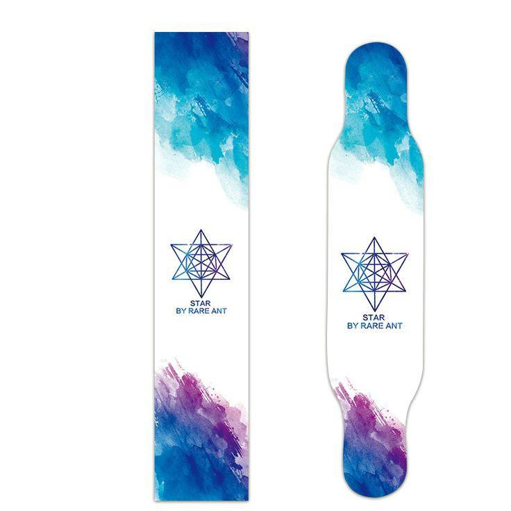 Free Shipping 1pcs 26*120cm Skateboard Longboard Griptape Deck Sandpaper Grip Tape Skateboard Sandpaper Long Board #Affiliate