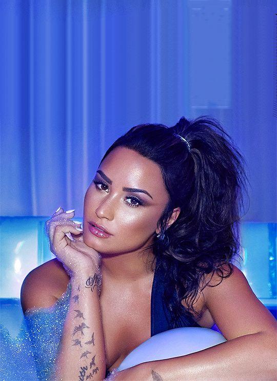 Demi Lovato SNS photoshoot