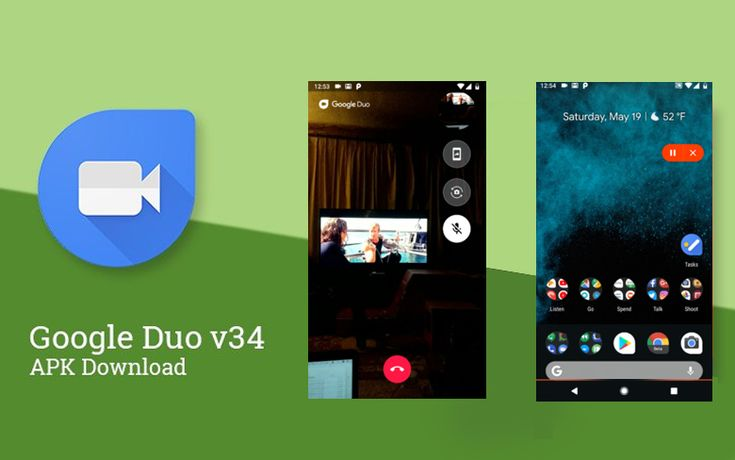 Google duo v34 comes with the official screen sharing