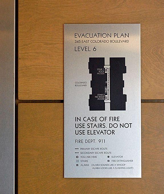 Evac Map