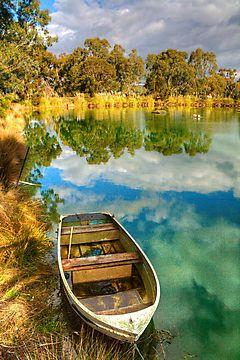 Sunshine on the lake