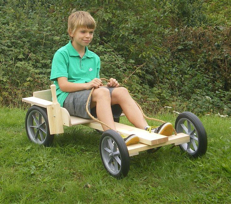 wooden go kart kits for kids