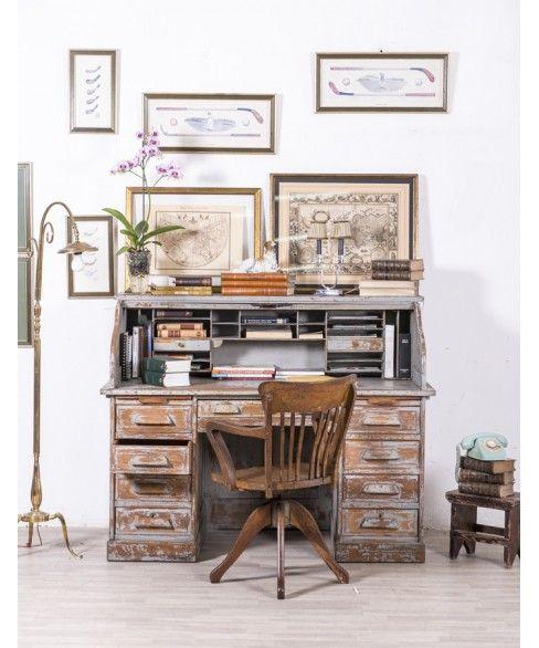 Escritorio Buró Antiguo #escritorio #oficina #despacho #dormitorio ...