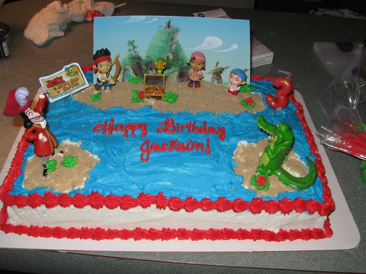 17 Best images about Birthday cakes on Pinterest  Island cake, Pirate ...