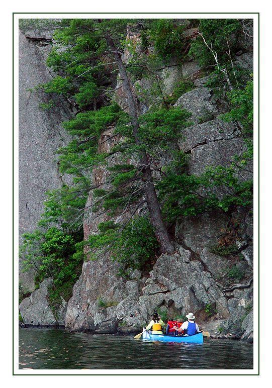 Mazina Lake escarpment, Bon Echo Park, Ontario, Canada Copyright: Nina de Villeneuve