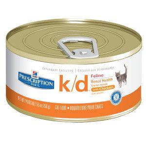 Hill's® Prescription Diet® k/d Renal Health Adult Cat Food   Canned Food   PetSmart  $1.89