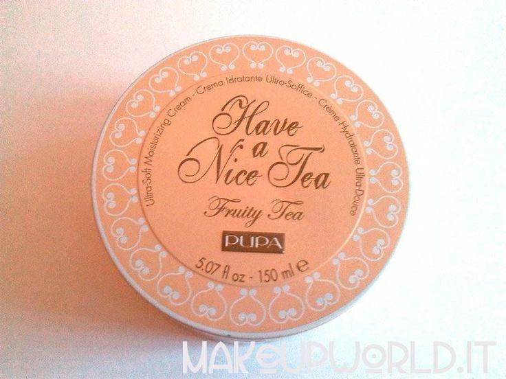 Pupa Have a Nice Tea, Fruity Tea #skincare #body #face #cream
