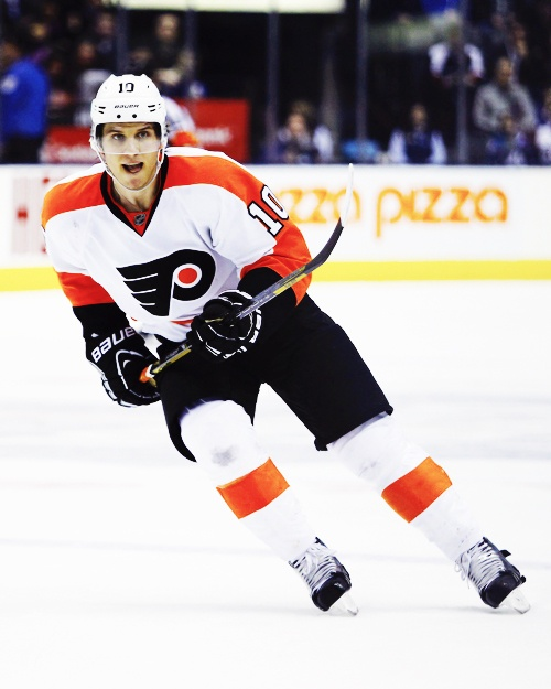 Brayden Schenn of the Philadelphia Flyers.