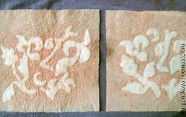 """Сумочка из войлока в технике """"Ламинирование"""" - Ярмарка Мастеров - ручная работа, handmade"""