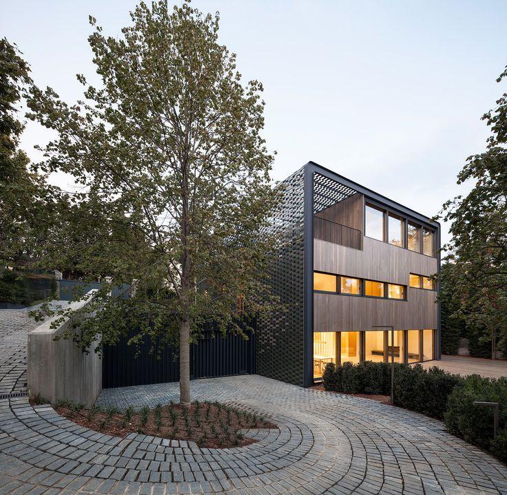 Access. Vivienda Unifamiliar TR HOUSE por PMMT Arquitectos. Fotografía © Pedro Pegenaute