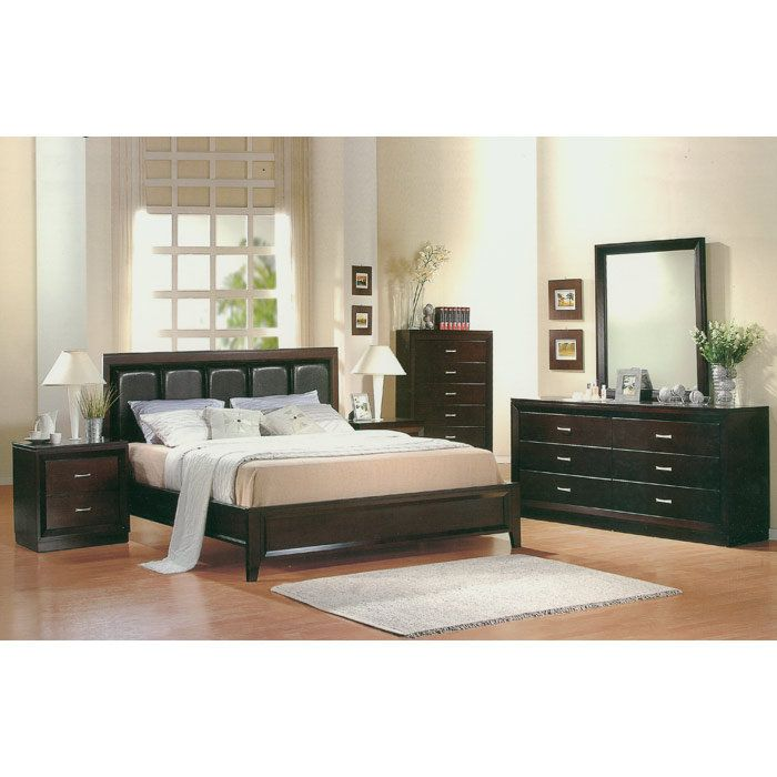 Polo 5 Piece King Bed Room Set by Canterbury at eFurniture Mart on sale online. Discount Coupons and Free Shipping #kingBedRoomSet #BedRoomfurniture #BedroomDesign
