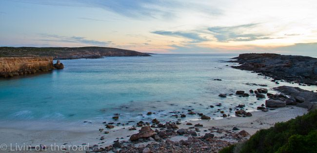 New Years Eve 2012 was a hot one spent at Whalers Way, on South Australia's Eyre Peninsula.