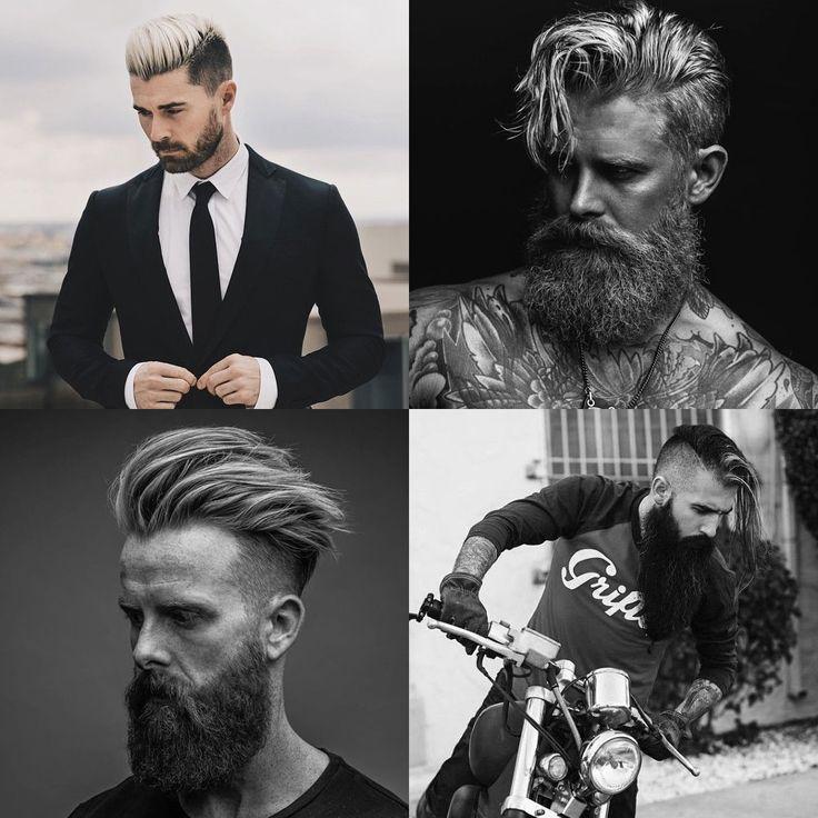 Hot Beard and Undercut Combinations
