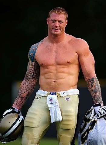 Jeremy Shockey shame he does not play anymore...I just love football...camp started this week for a lot of them...ARE WE READY FOR SOME FOOTBALL?????