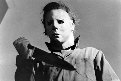 Michael Myers mask: according to horror movie lore the Haloween villan's mask is a store bought Captain Kirk mask painted white - whatever it was it was terrifying.